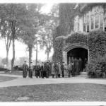 Last chapel service, 1931.