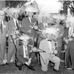 1954 reunion—nice hats!