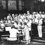 Alumni choir, 1983.