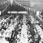 Alumni gather for banquet, 1952.