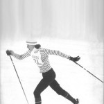 Nancy Ingersoll '78 displays the form and intensity that won many a cross-country ski race.