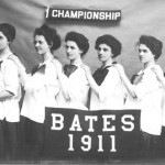 Class champions—the lady hoopsters of 1911.
