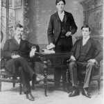 On February 27, 1896 in Lewiston City Hall, this team of debaters won the first intercollegiate debate with Colby.