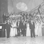 Formal attire please—Choral Society performs at Pops Concert, 1954.