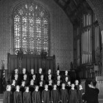 Chapel Choir, 1957.