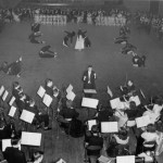 A 1948 Pops Concert features a performance by the Bates Modern Dance Club.