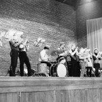 Spring Music Fest performers—Pep Band, 1970.