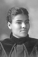 Stella James, Class of 1897, was the College's first African American woman graduate.