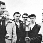 Muskie '36 lights the 1958 torch