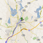 Bates is located in central Maine, 35 miles from Portland, 140 miles from Boston, and 340 miles from New York City.