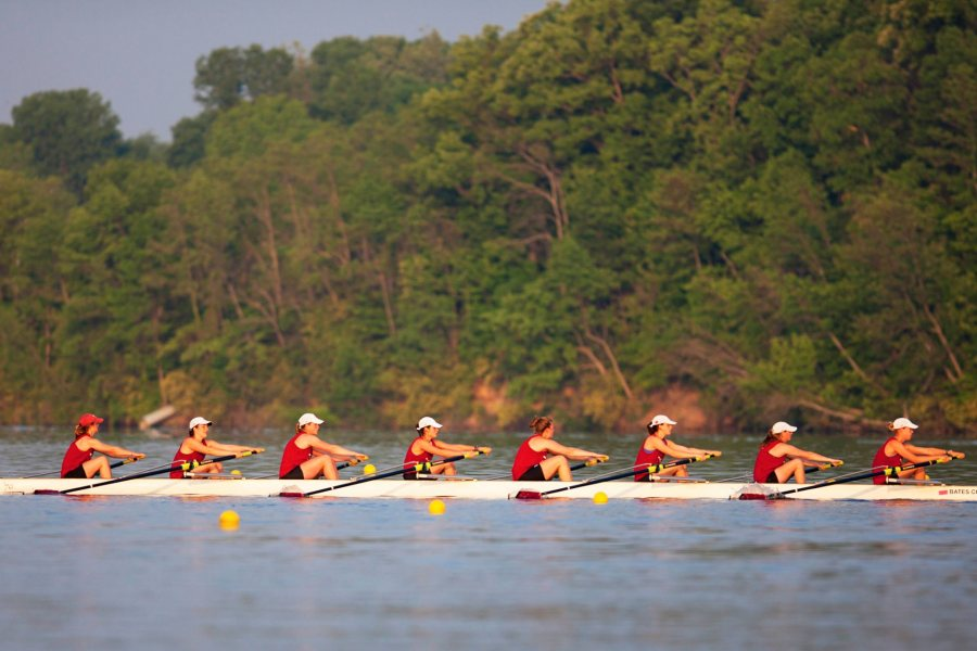 Bates' women rowers are the 2015 NCAA Division III national champions.