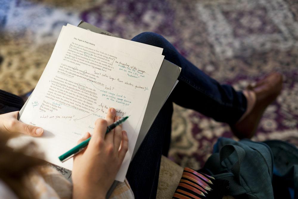 Creative writing outsider