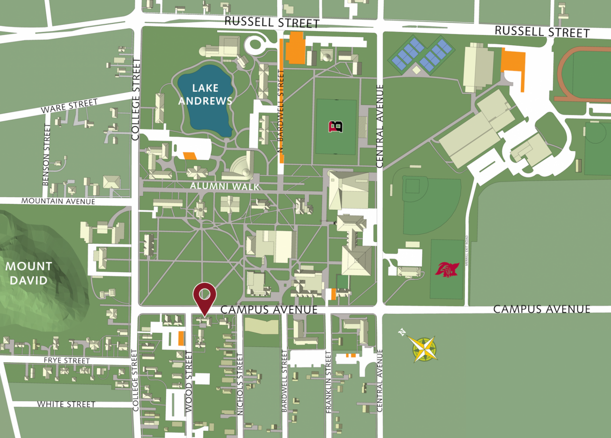 bates college campus map Getting To Campus Admission Bates College bates college campus map