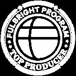 Fulbright Program logo white