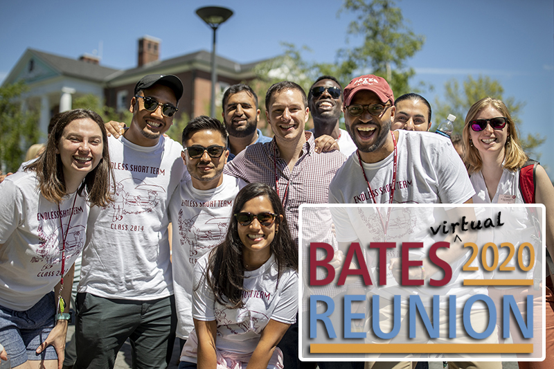 We love a parade, especially this one! Alumni showed their class spirit as they marched and danced through a crowd of cheering Bates alumni friends this morning on the Historic Quad and Alumni Walk.
