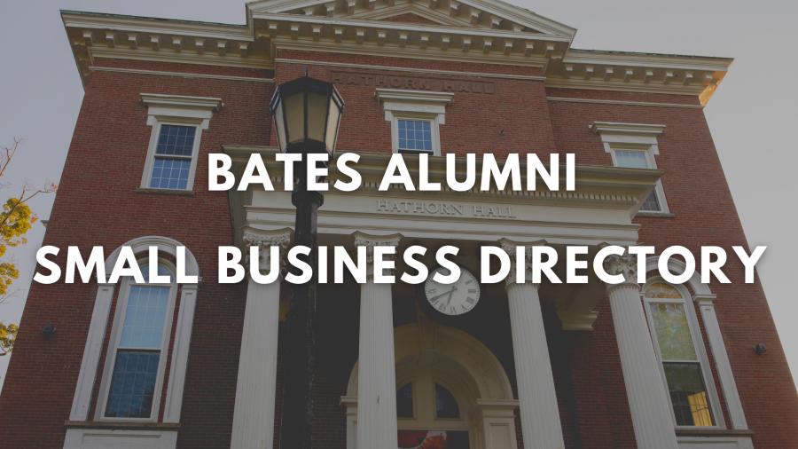 Bates Alumni Small Business Directory