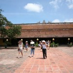 Visiting Hall honoring the Nguyen Imperial ancestors, the Imperial City.