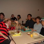 Fall 2005, JPN Lang. Table  (Clockwise from the left:Chris, Mike, Noguchi-sensei, Ariane, Akiko, Ken, Ofuji-sensei, Daiki)