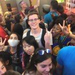 Extreme Elevator Selfie
