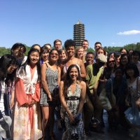Short-Term in China 2017 Visits with Peers at Peking University