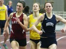 Women's track posts fast times at Terrier Invitational