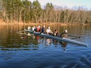 Men's varsity eight wins in Worcester in spring opener