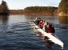 Women's rowing tops strong field in spring debut