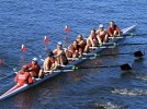 No. 2 women's rowing dominates Simmons, UVM
