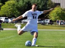 Keeper makes nine saves in men's soccer debut
