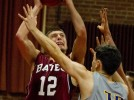 Bowdoin nips men's basketball in overtime, 74-70