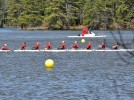 Women's rowing sweeps Bowdoin and Colby