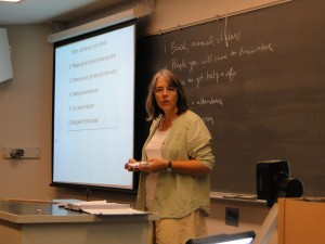 Stephanie Richards teaching Bio 242