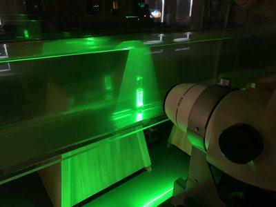 Bio 195 flow tank experiment.