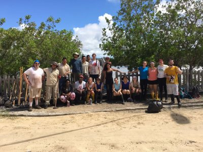 Our group on the last day of our community project