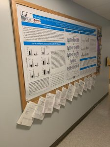 Research posters and publications produced by Larissa Williams and her Bates students.
