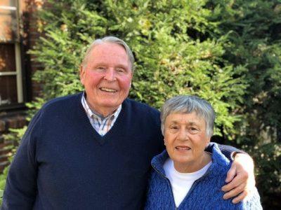 Photo of Dennis and Jo-Linda Keith in November 2018.
