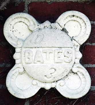 The 1903 ivy stone is on Hathorn Hall facing Dana Chemistry Hall.