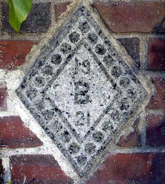 The 1921 ivy stone.