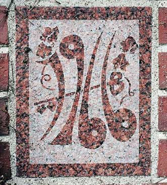 The 1966 ivy stone is on Carnegie Science Hall facing Chase Hall.