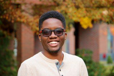 <center><b>Michael Morgan '22</b>Pronouns: he/him/his Campus Life Graphic Designer</center>