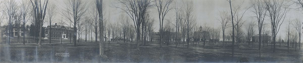 Bates College, 1909, by Hanson