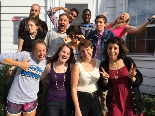 Being Silly! Multifaith Chaplaincy Staff with the Multifaith Fellows, Fall 2014