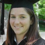"Kristen MacMurray of Carpinteria, Calif., says thanks to ""my group of friends. Most of us are rugby players who met through the team. Each person in our group is different and we each bring a lot to the group, but we all understand everyone's differences."" Kristen graduated with a B.A., cum laude, in Spanish."