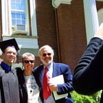 Graduates and their families kept photographers busy after Commencement.