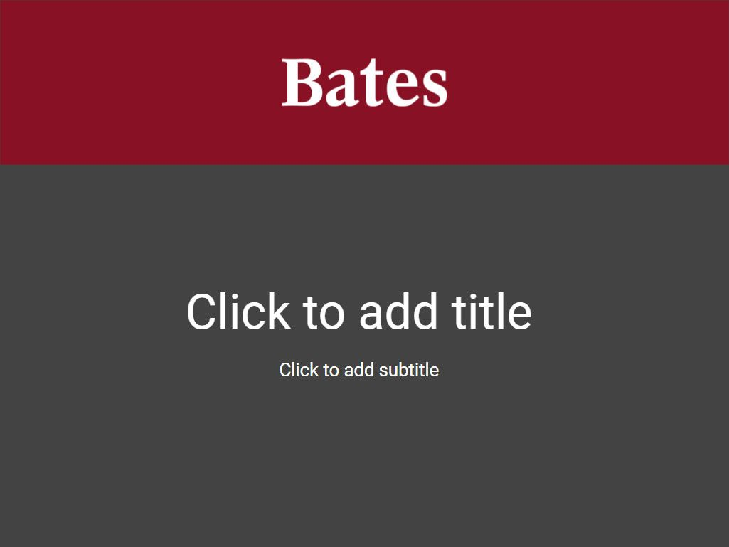 Downloads | Communications | Bates College