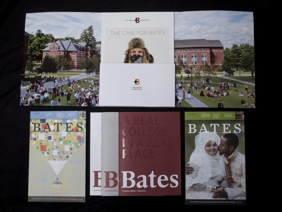 Award-winning Bates Communications Office publications. Design and Photography were the criteria for which these were judges.