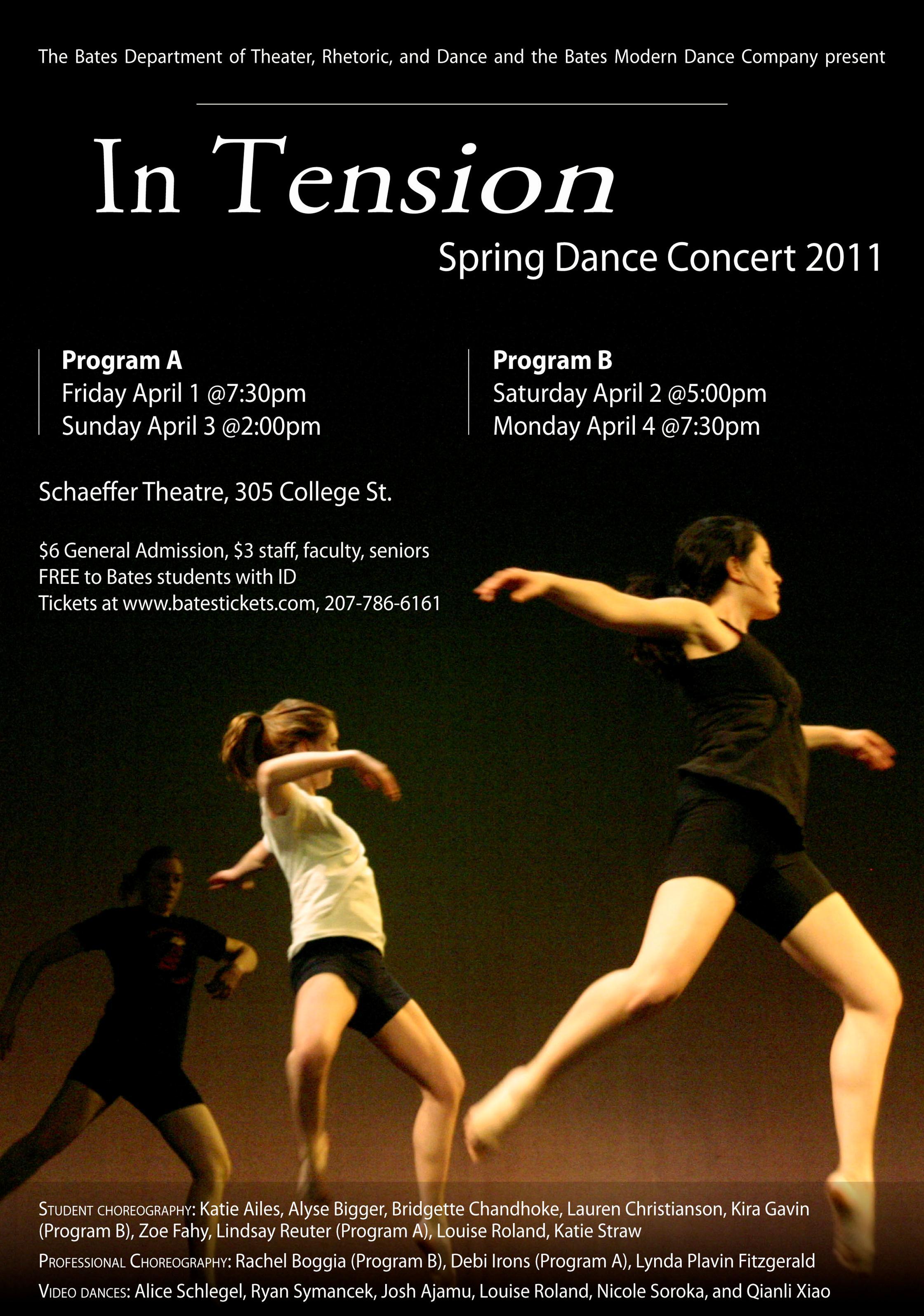 Spring Dance Concert '11