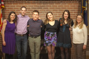 Members of the Class of 2014 (Photo Credit: Taylor Blackburn '15).