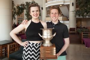 National Champions Taylor Blackburn and Jack Stewart (Photo Credit: BQDC)