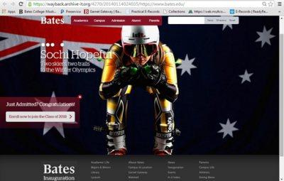 Bates Website Preservation